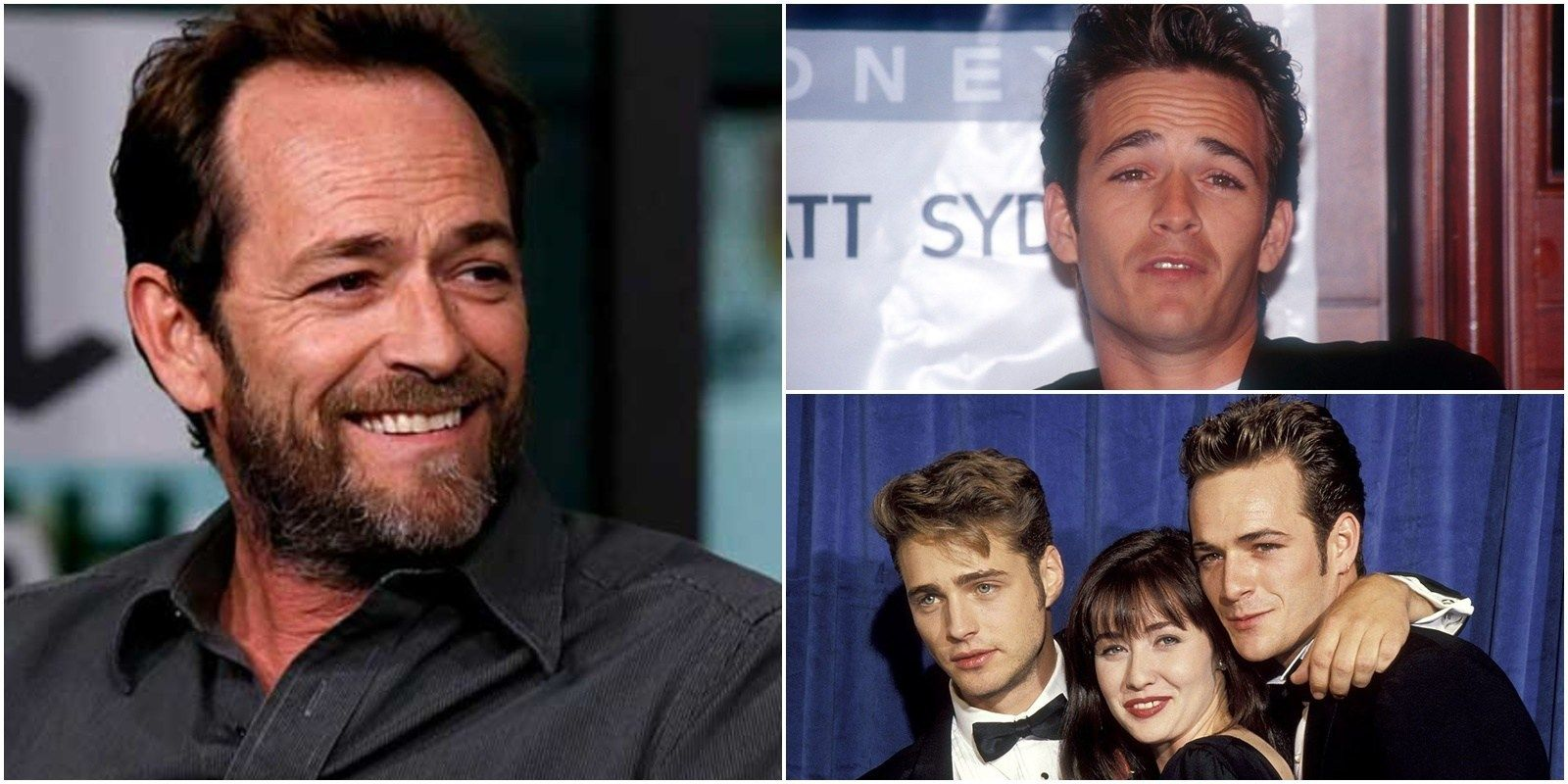 Luke Perry Star Of Beverly Hills 90210 Dead At 52 Luke Perry Luke Tv Dads