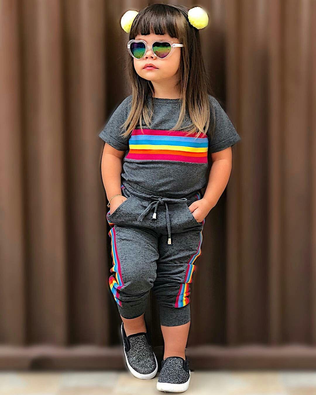 f3b92566457535 Menos o óculos | Niñas street | Moda para crianças, Roupas infantil ...