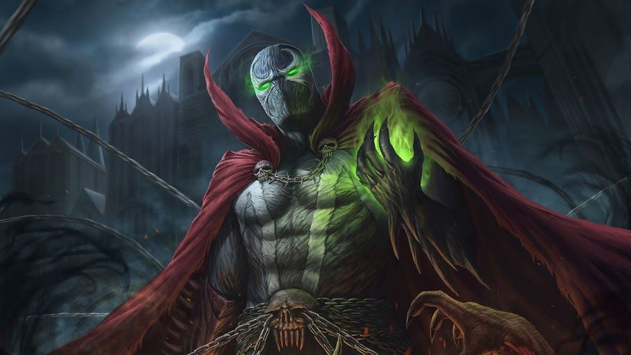 Ultra Hd Wallpaper Spawn 4k 205 For Desktop Laptop Imac Macbook Pc Tablet And Smartphone Iphone Android Mobile Devices Spawn Comics Spawn Artwork