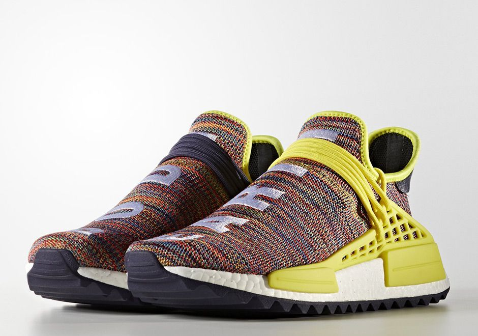 #sneakers #news The Pharrell x adidas NMD Hu Trail Releases This Saturday