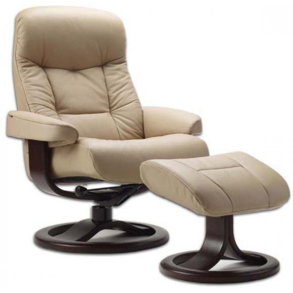 Fjords 215 Muldal Recliner With Ottoman Recliner With Ottoman Leather Recliner Chair Leather Recliner