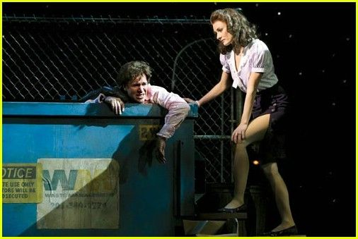 Come Out Of The Dumpster From Wedding Singer Admittedly Its Def Not One Best Musicals There But Im In It Right Now