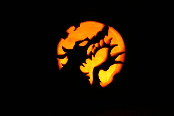 Werewolf Halloween Pumpkin Carving By Triumphsix Halloween