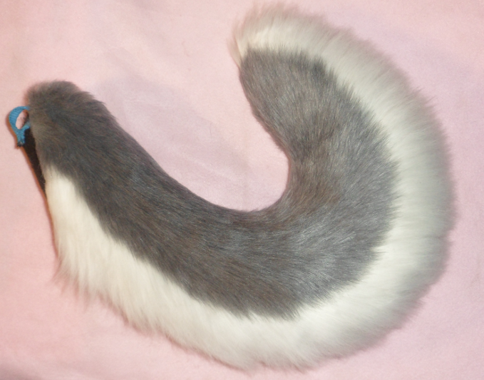 Gray Husky Tail By Nagowteena101 On Deviantart Husky Tail Animal Tails Cat Ears And Tail