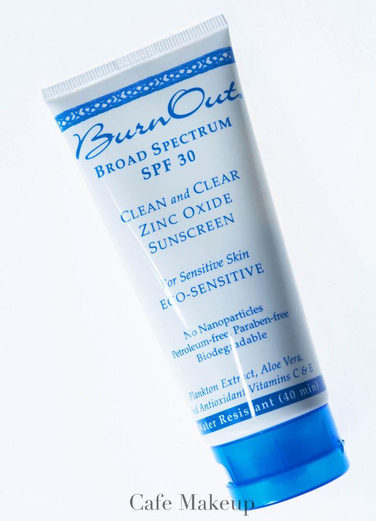 Burn Out Eco Sensitive Sunscreen Spf 30 Spf 30 Cafe Makeup Spf Sunscreen