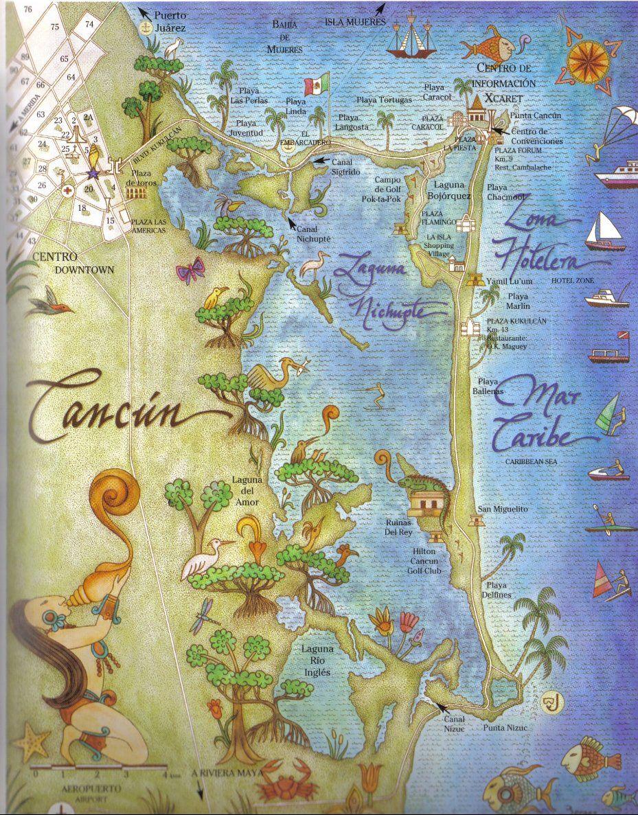 México es hermoso y tiene de todos los climas y lugares para admirar y disfrutar como CaNCuN...