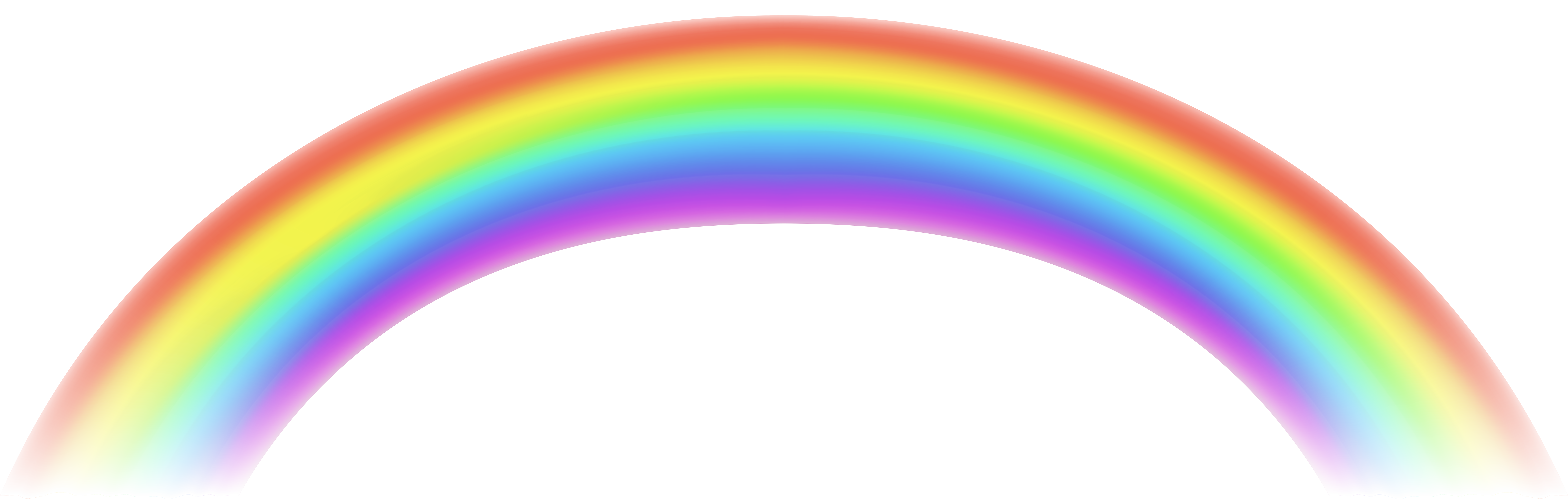 Transparent Rainbow Free Png Clip Art With Images Free Clip