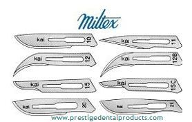 Carbon Surgical Blades are utilised in a variety of surgical procedures including the excision of a skin lesion or recurrent sebaceous cyst and for opening coronary arteries. http://www.prestigedentalproducts.com/Carbon-Surgical-Blades-Miltex/