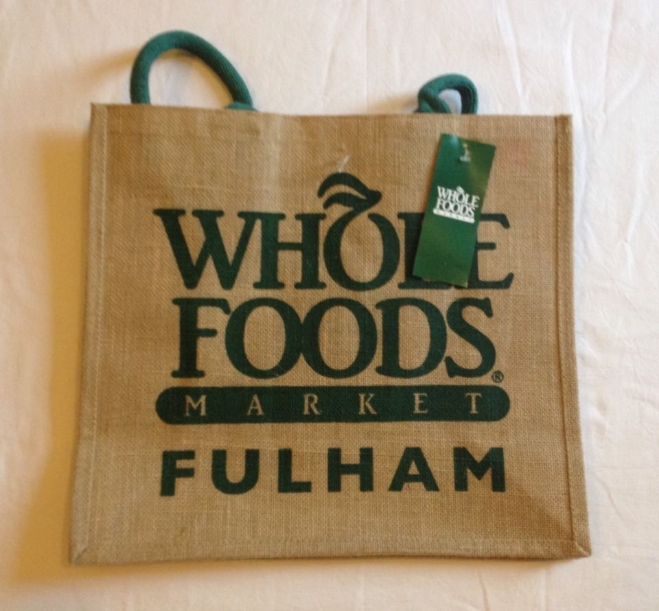 Details About Whole Foods Fulham Broadway London Eco Tote