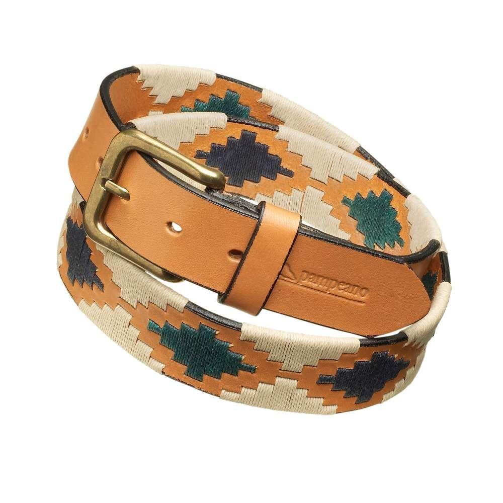 pampeano polo belt luxury hand stitched polo belt estancia one