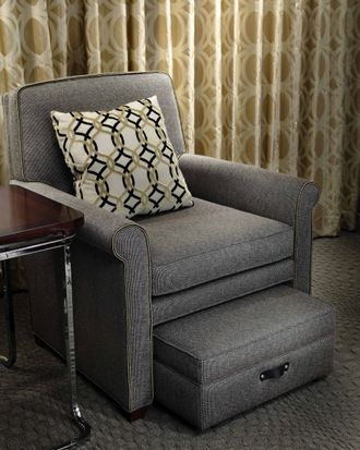 chair with hidden ottoman what??? need this.   Home Sweet ...