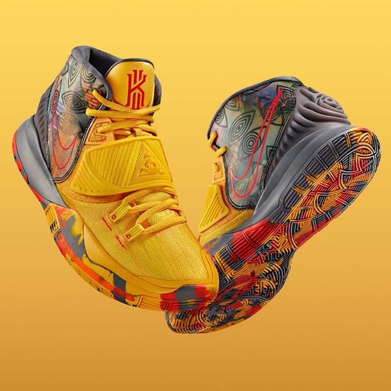 Nike Kyrie 6 Pre Heat Beijing In 2020 Kyrie Irving Shoes Nike Kyrie Nike Basketball Shoes