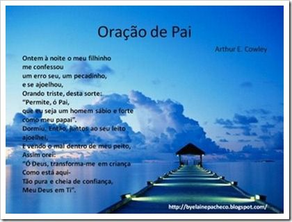 Mensagens Frases Poemas E Poesias Evangélicas Para O Dias Dos Pais