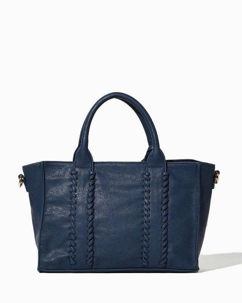 Whipstitch Tassel Tote   Fashion Handbags & Purses   charming charlie