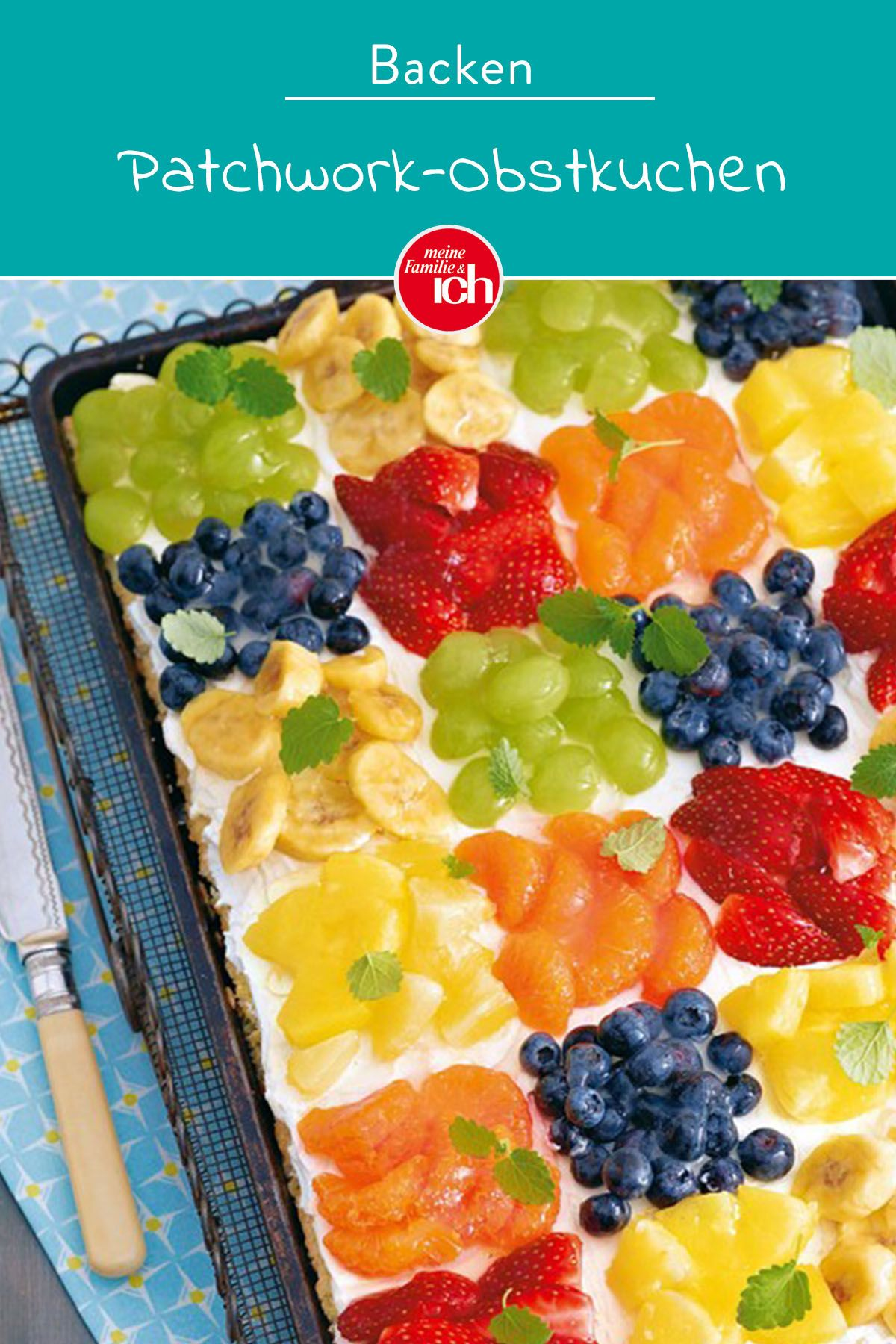 Patchwork-Obstkuchen