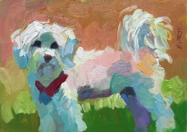 "Rosa by Larisa Aukon Oil ~ 5"" x 7"""
