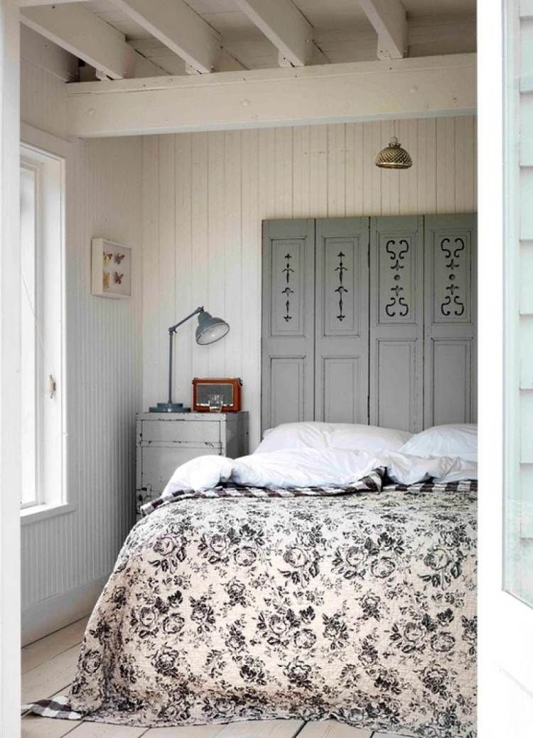 Tête de lit palette - osez un lit incroyablement original !