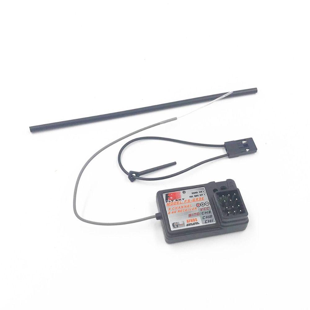 Flysky GR3E FS GT3 GT3B 2.4G  receiver 3 channels Fail-Safe Car Boat GT2