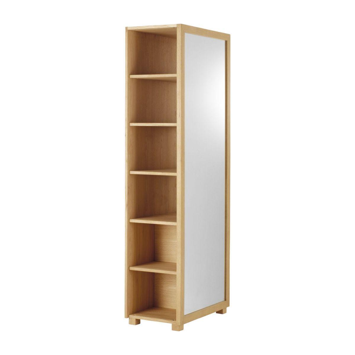Hana Ii Miroir Sur Pied En Chene Avec Rangements En 2020 Miroir Sur Pied Mobilier De Salon Miroir Habitat