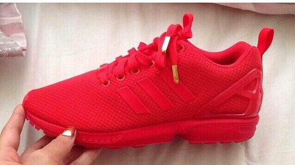 Adidas Shoes Zx Flux Red