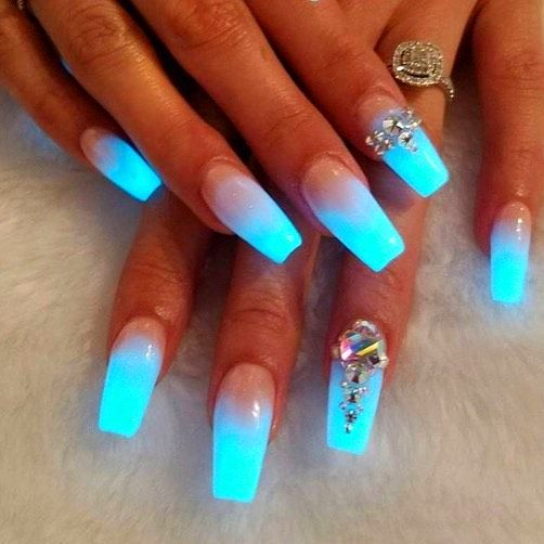 50 Acrylic Coffin Nails Design For Summer #49 | Coffin nails ...