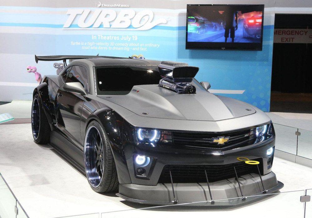 Custom Camaro Designed To Promote Turbo Chevy Camaro Camaro