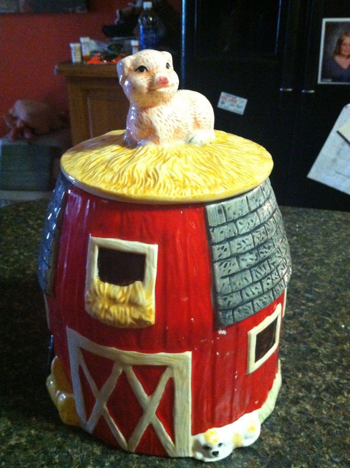 Red Barn Cookie Jar Antique Cookie Jars Cookie Jars