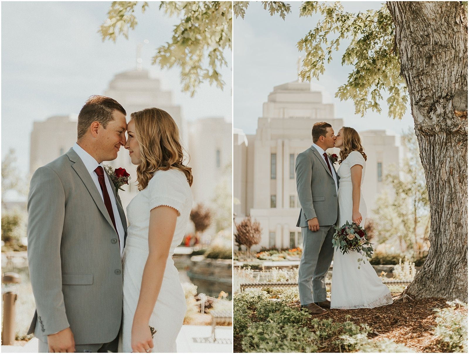 Meridian Lds Temple Wedding In 2020 Lds Temples Wedding Temple Wedding Mormon Wedding