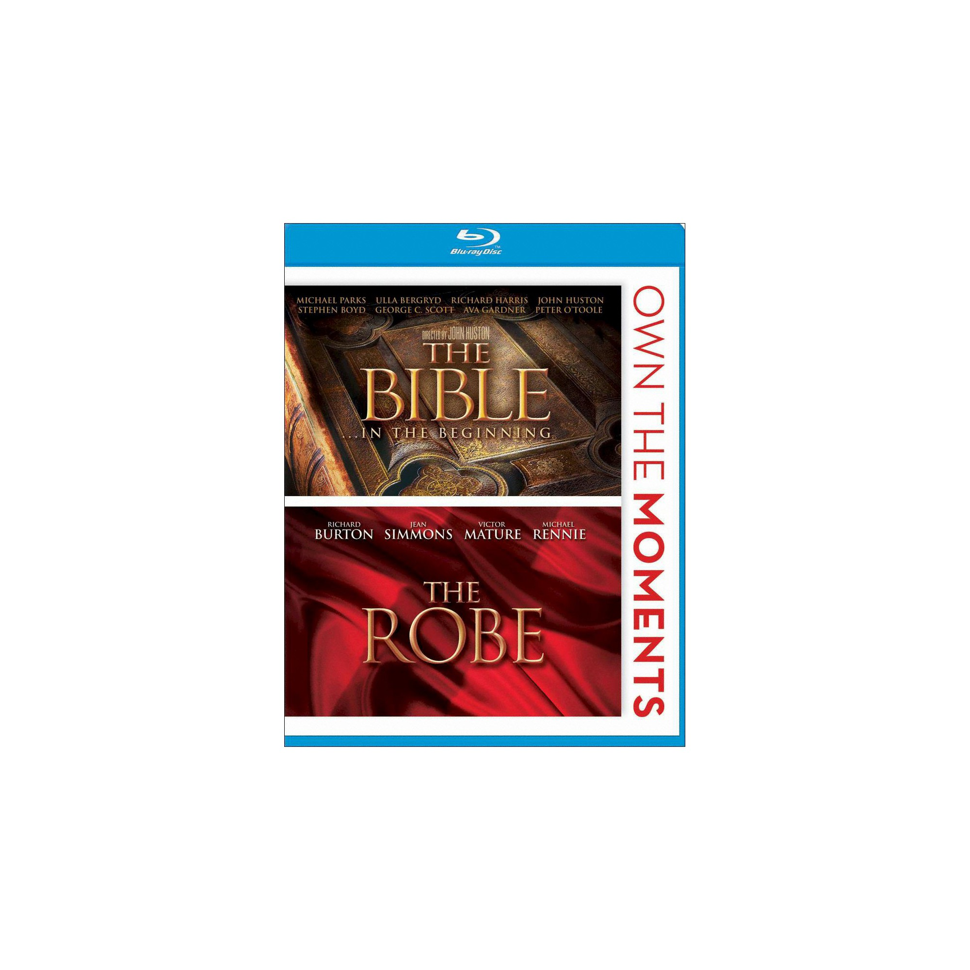 The Bible: In the Beginning/The Robe (2 Discs) (Blu-ray)