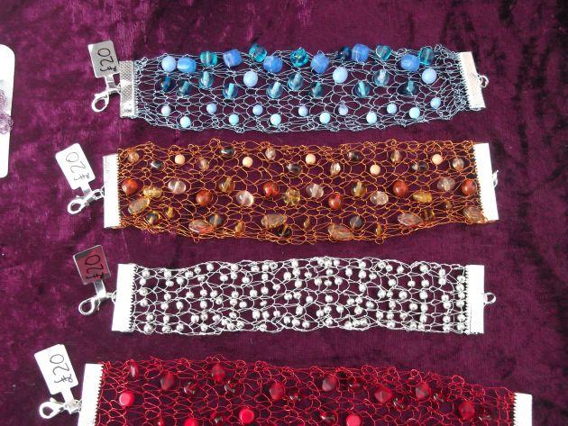 Knitted Bracelets £20 each