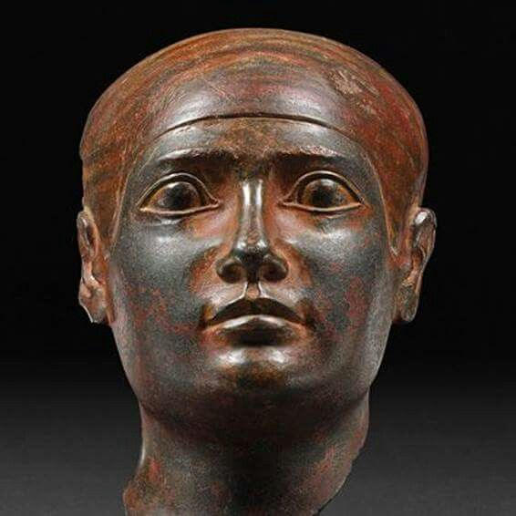 Statue head from the Old Kingdom: Dynasty 4-5, ca. 2639 ...