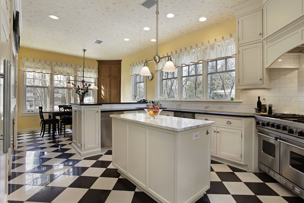 White Kitchen Yellow Cabinets eclectic mix of 42 custom kitchen designs | white cabinets