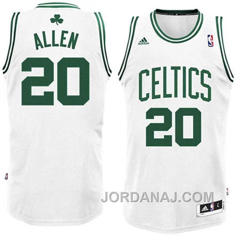 Buy Ray Allen Boston Celtics Revolution 30 White Swingman Jersey from  Reliable Ray Allen Boston Celtics ...