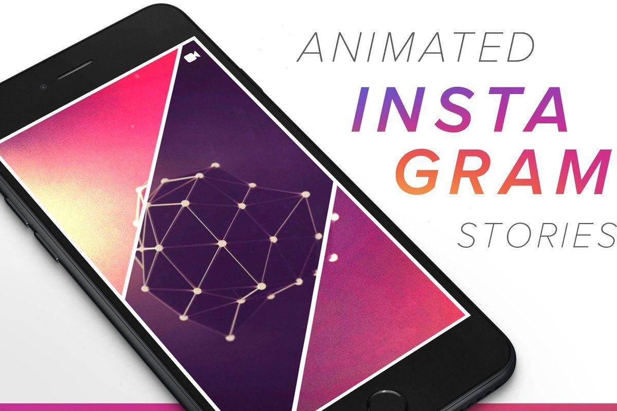 ANIMATED Instagram Stories Bundle Instagram story, Story