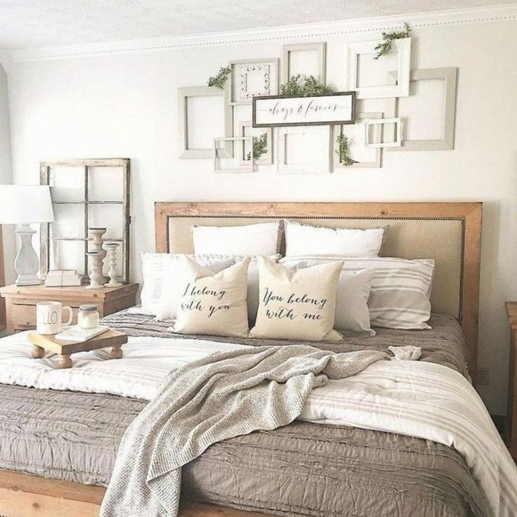 30+ Spectacular Farmhouse Master Bedroom Decorating Ideas ... on Farmhouse Bedroom Curtain Ideas  id=17622