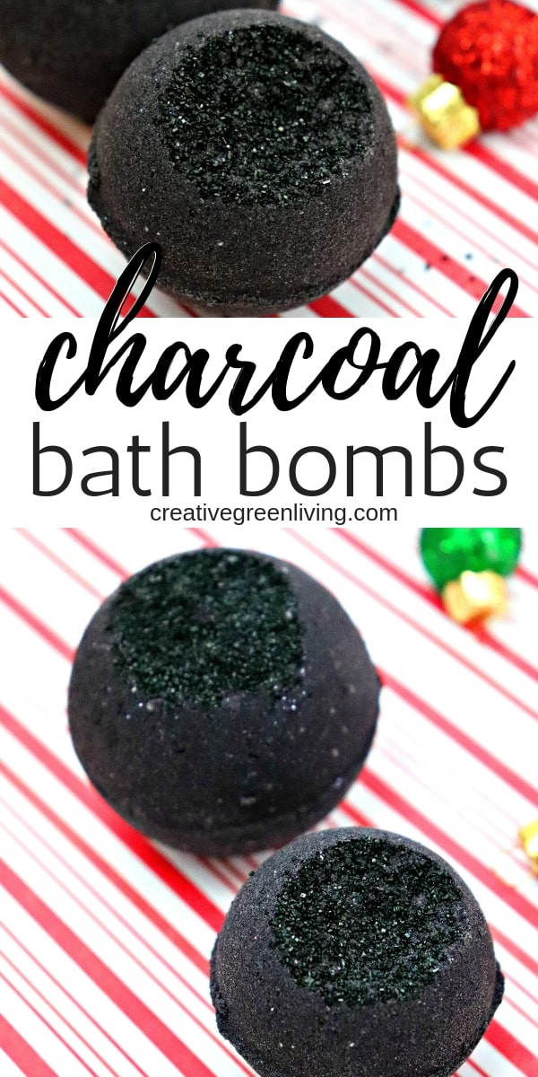 How to Make Black Bath Bombs with Activated Charcoal
