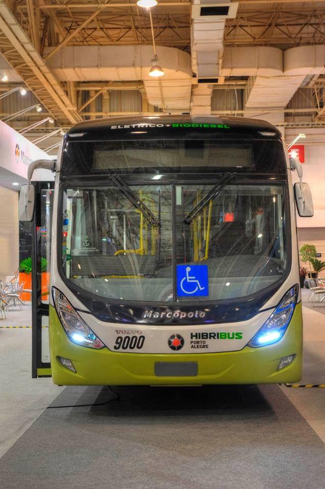 Marcopolo Viale Híbrido / Volvo – Transpúblico Brasil 2013. Foto: João Luiz de Oliveira. License: CC BY 2.0. #hybrid #electric #bus