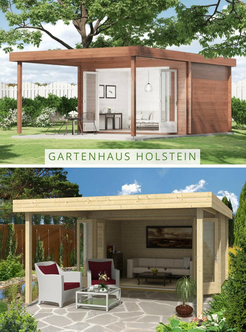 Gartenhaus Holstein Mit Grosser Falttur Perfekt Fur Laue Sommerabende Gartenhaus Gartenhaus Mit Terrasse Gartenhaus Modern
