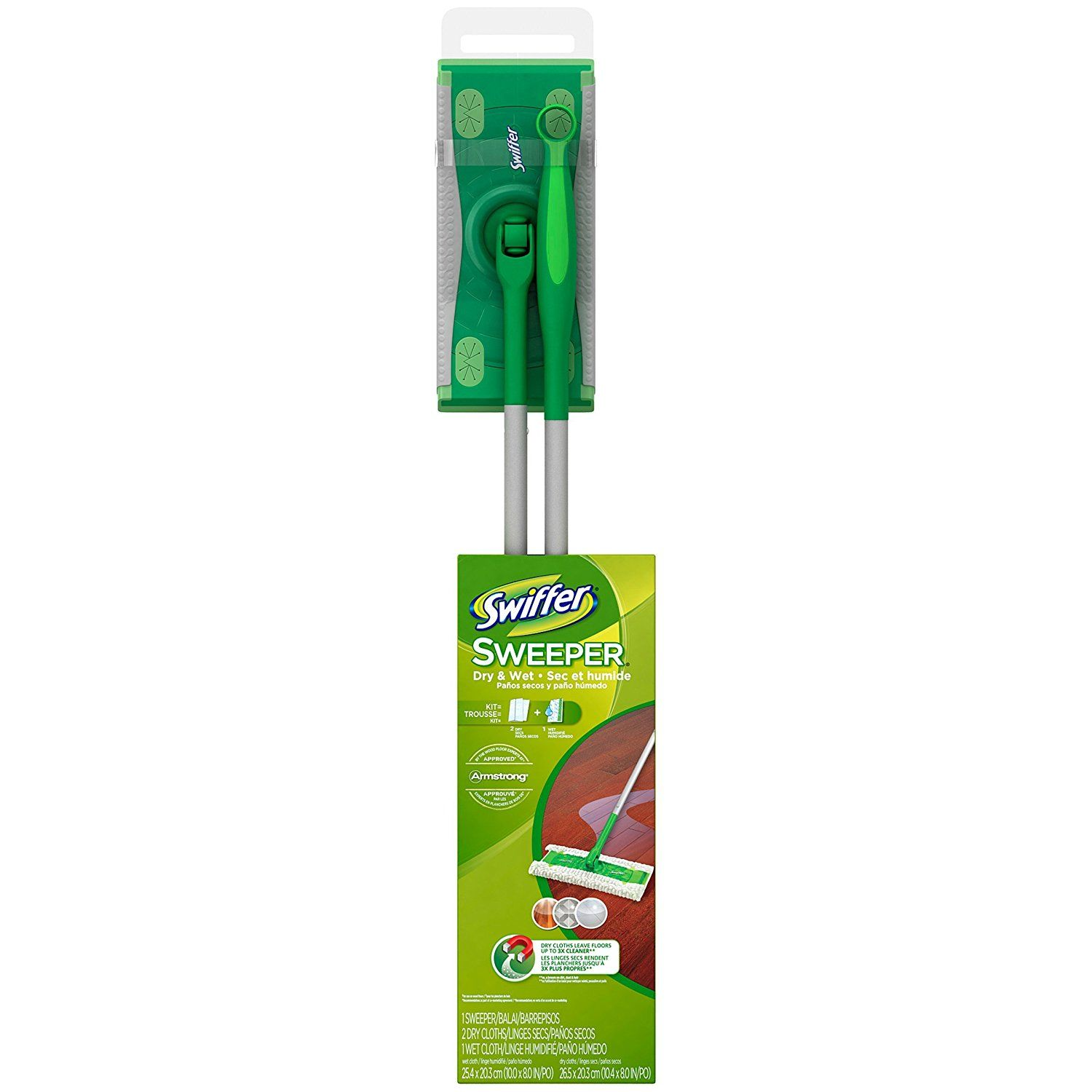 Are You Cleaning Your Bathroom Floor Correctly? Swiffer