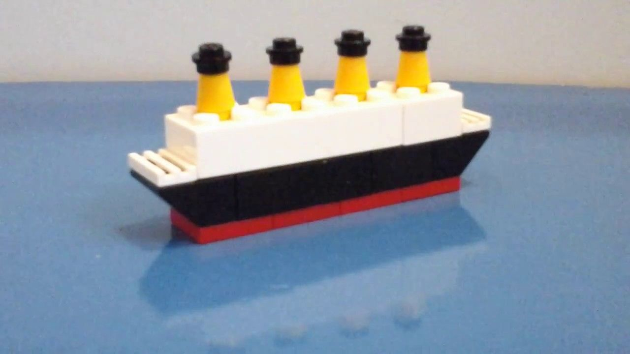 How To Build A Mini Lego Titanic Lego Lego Titanic Titanic Lego