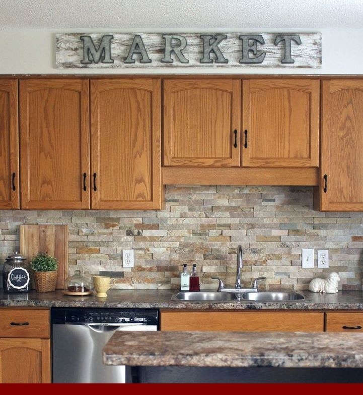 Updating Knotty Pine Kitchen Cabinets: Oak Cabinets Paint Colour