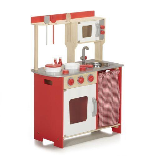cuisini re pour enfant en bois et accessoires ma grande cuisine cuisine pinterest jeu. Black Bedroom Furniture Sets. Home Design Ideas