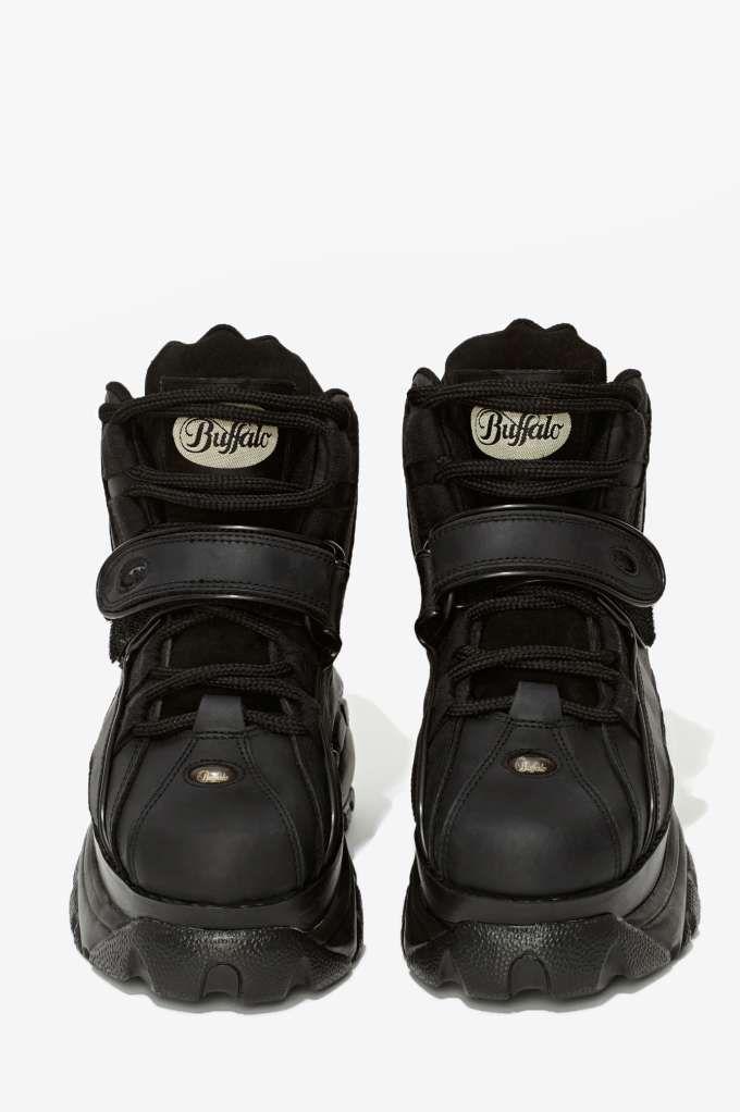 d315c488c2f Buffalo London B48 Platform Sneaker - Black - Sneakers   High-Tops ...