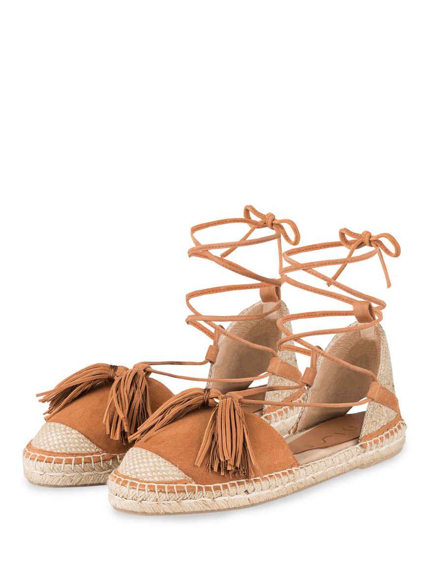 83d0c1eeacfd8 Espadrilles BOBAL von UNISA bei Breuninger kaufen | Sommer-Sandalen spotted  by bettina/beauty baleares | Espadrilles, Luftiges kleid, Wolle kaufen