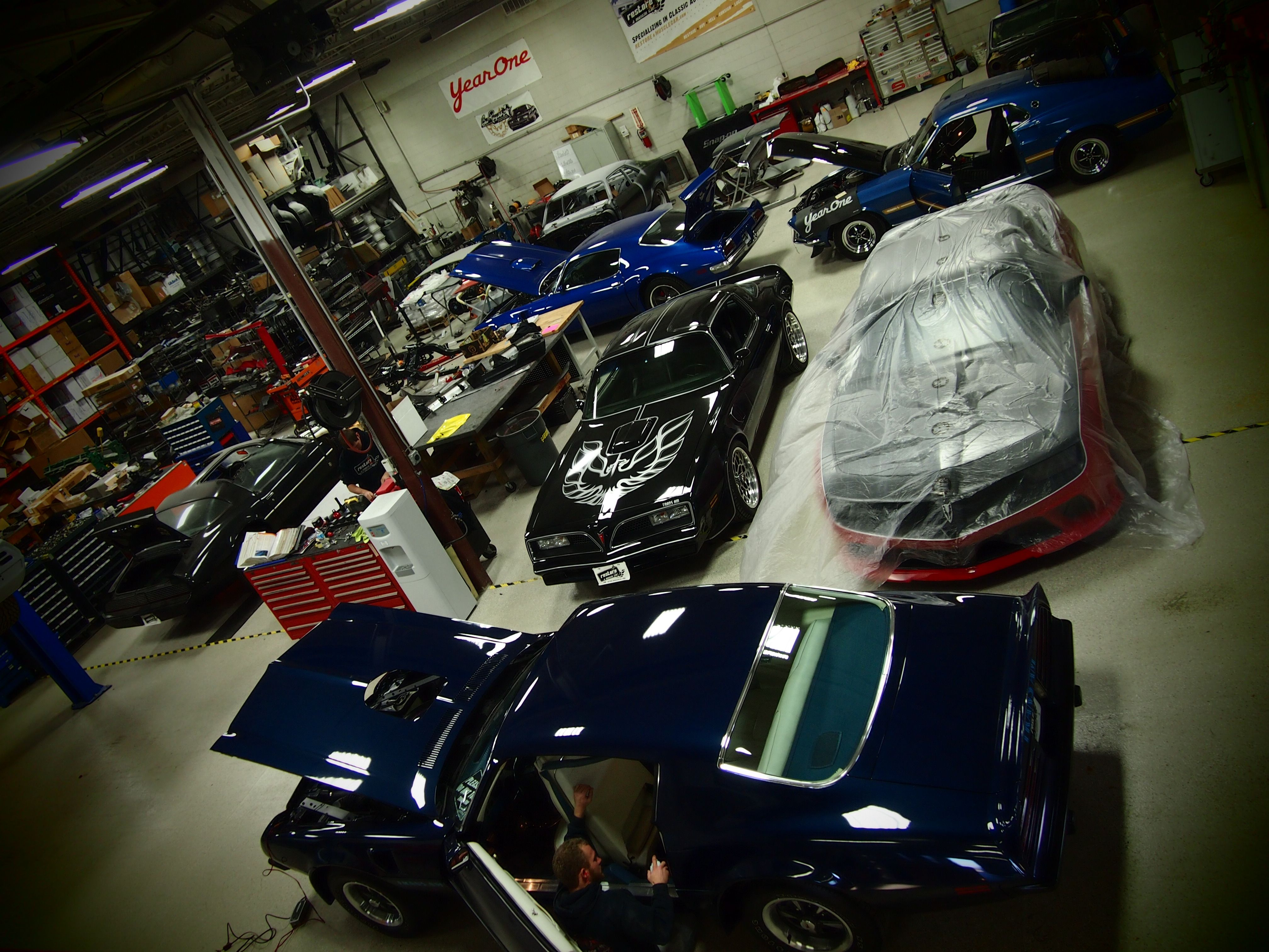 Restore A Muscle Car Assembly Area