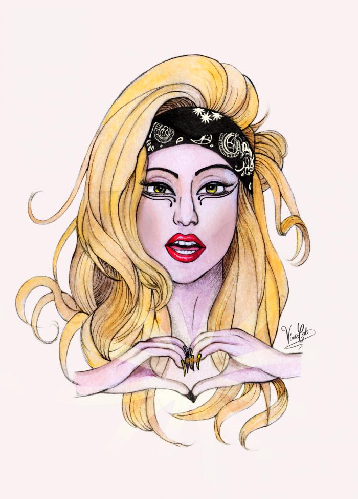Lady Gaga ⒶⓇⓉ ⓂⓄⓃⓈⓉⒺⓇ LADY GAGA #Gaga #LadyGaga ...