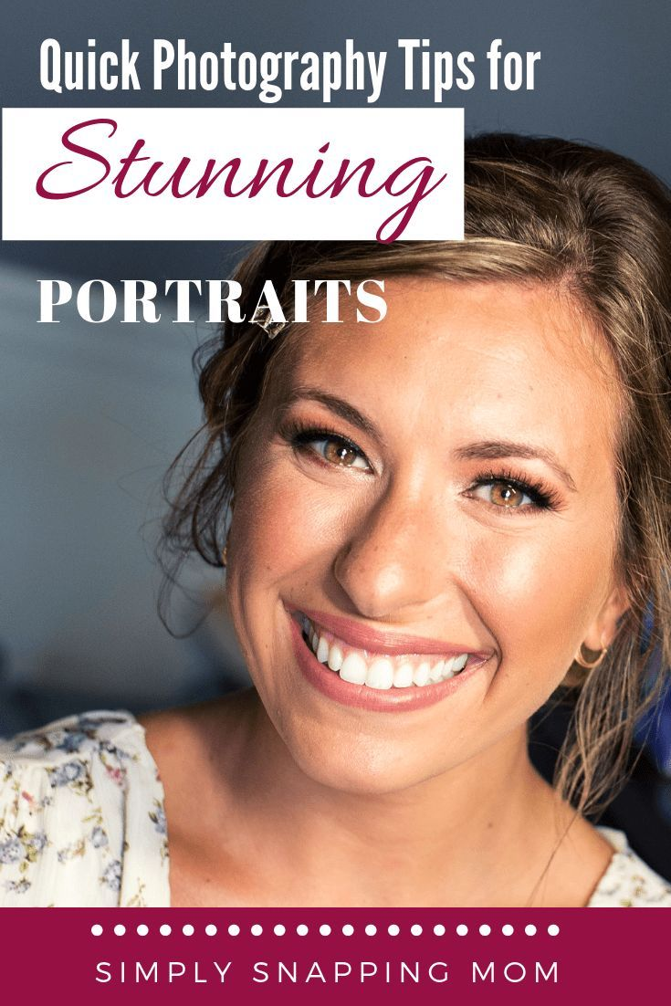 Photography Tips for Stunning Portraits