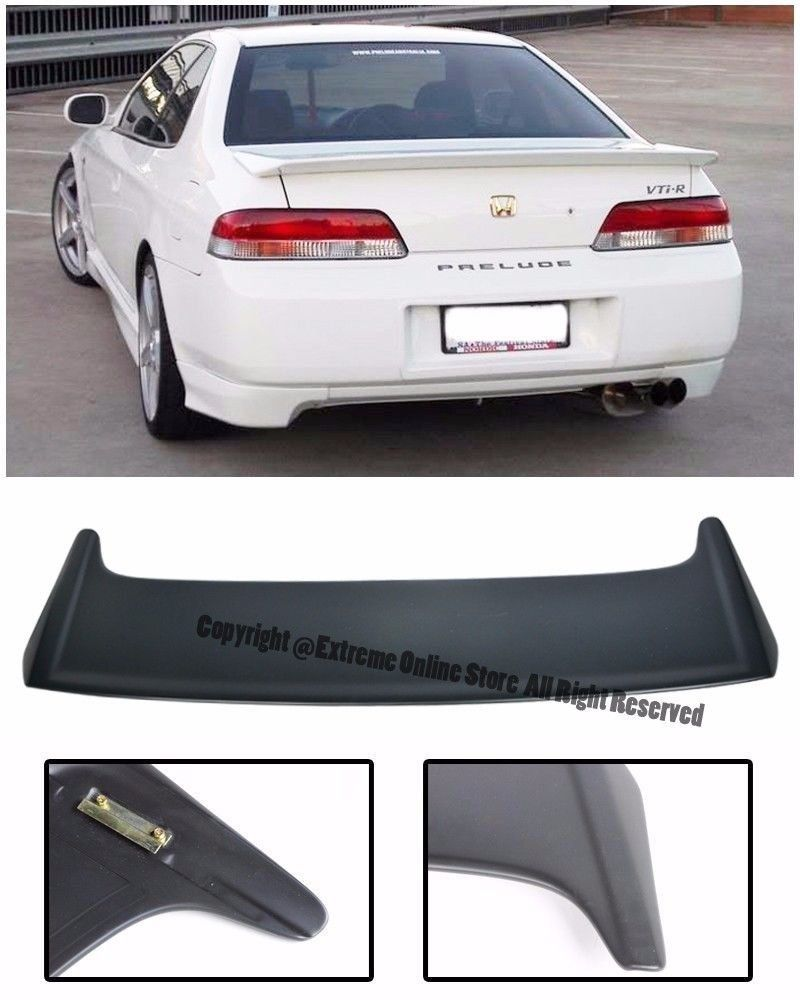 Amazon.com: JDM MUGEN Style FiberGlass Rear Trunk Lid Wing