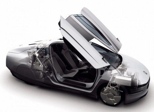 The Volkswagen Xl1 Protoype Luxury Modern Cars Pinterest