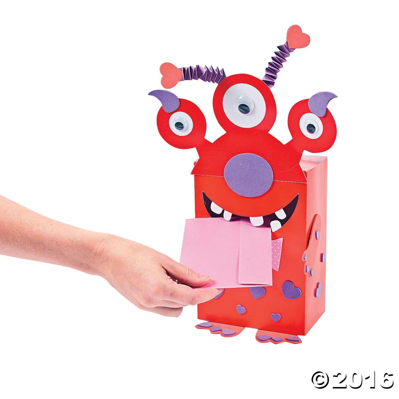 Monster Valentine Card Holder Craft Kit  Valentines Day